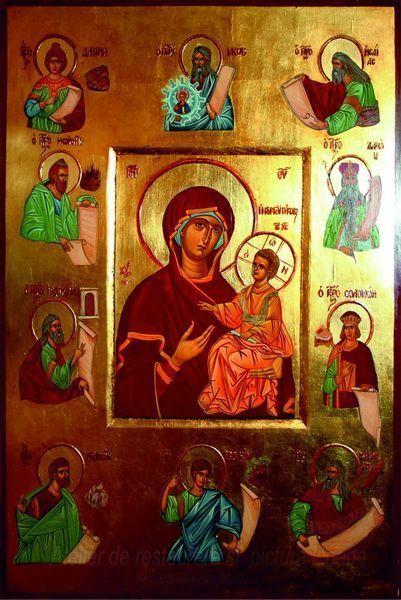 Maica Domnului Călăuzitoarea cu pruncul Iisus