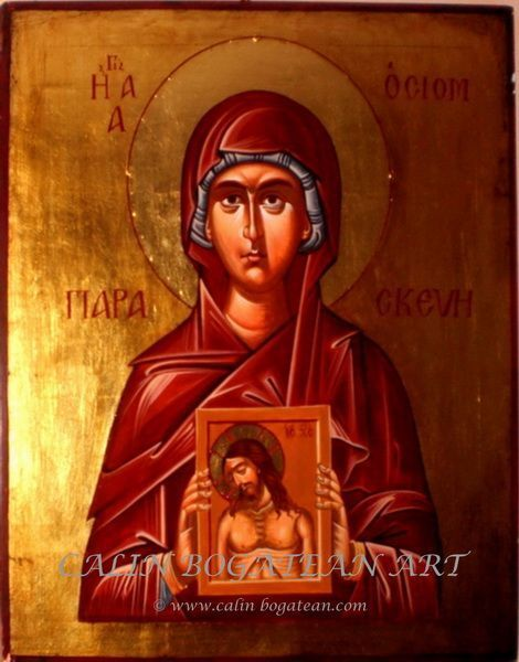 Sfânta muceniță Parascheva