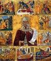 Sfântul Antonie cel Mare icoană împărătească