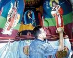 Pictură monumentală Sfântul Ierarh Calinic