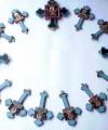 Cruci cu sfinți module