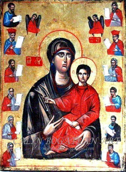 Maica Domnului cu Pruncul și prorocii
