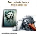 Prețuri portrete creion desene grafice la comandă