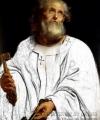 Reproducere  tablou Sfântul Petru pictură carnație fețe mâini