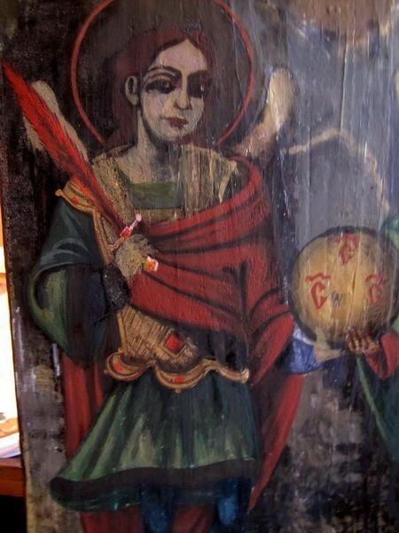 Restaurare fizionomie Sfântul Arhanghel Mihail