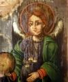 Sfântul Arhanghel Gavriil icoană restaurată