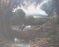 restaurare pictură curățare tablou