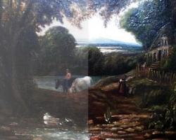 restaurare pictură tablou
