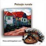 Peisaje rurale pictură în ulei pe pânză