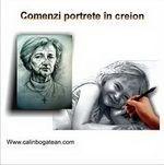 Portrete creion desene portrete la comandă