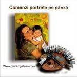 comenzi portrete pe pânză pictură realistă-hiperrealistă