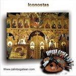 Iconostas pictură pe lemn pentru catapeteasmă