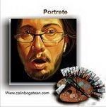Portrete pictură în ulei pe pânză și desene în creion