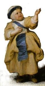 portret în picioare pictură în ulei pe pânză