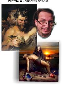 Portrete compoziții tablouri dupa poză