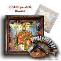 icoane pe sticlă Roxana picturi naive pe sticlă icoane tradiționale pictate pe sticlă