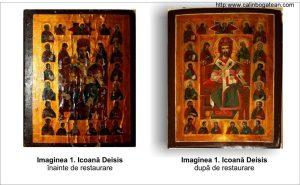 Restaurare icoana Deisis