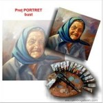 Preț portret bust