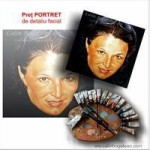 Preț portret detaliu facial