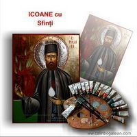 Icoane cu sfinți pictură la comandă