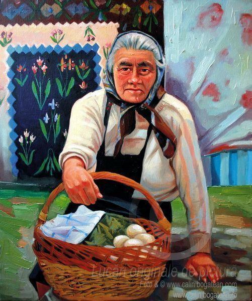 Femeia cu ouă