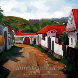 Satul-mureșean-uliță
