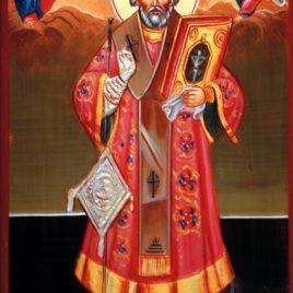 Sfântul Nicolae de la mănăstirea Căldărușani, Sfântul Nicolae de la mănăstirea Căldărușani copie, Sfântul Nicolae de la mănăstirea Căldărușani, reproducere icoană, Sfântul Nicolae de la mănăstirea Căldărușani, icoană făcătoare de minuni